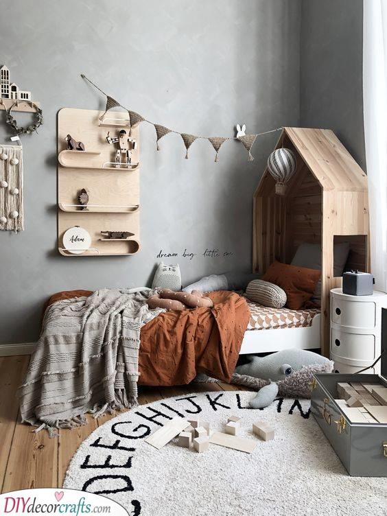 Unique Pieces of Decor - Little Boy Room Ideas