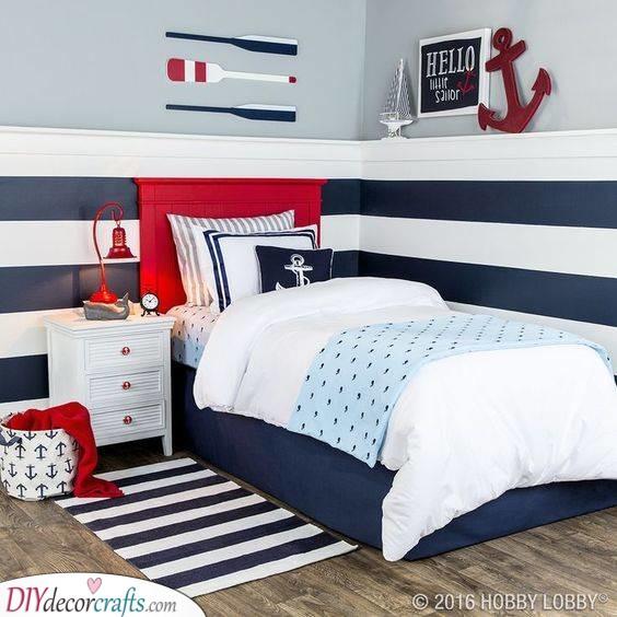 A Nautical Design - Toddler Boy Room Ideas