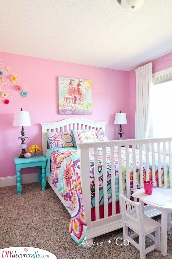Little Girl Room Designs: Toddler Girl Bedroom Ideas On A Budget