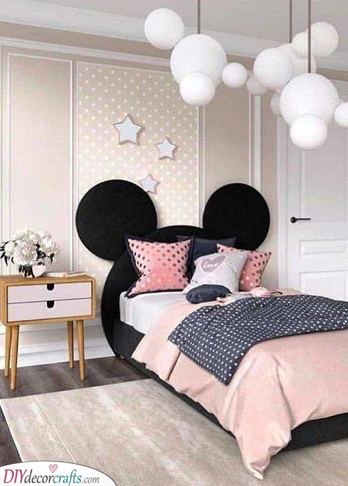 Toddler Girl Bedroom Ideas on a Budget - Little Girl Bedroom ...