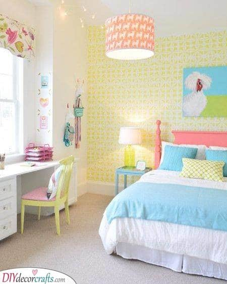 Toddler Girl Bedroom Ideas On A Budget Little Girl Bedroom Decor,Diy Home Decor Paper Craft Ideas