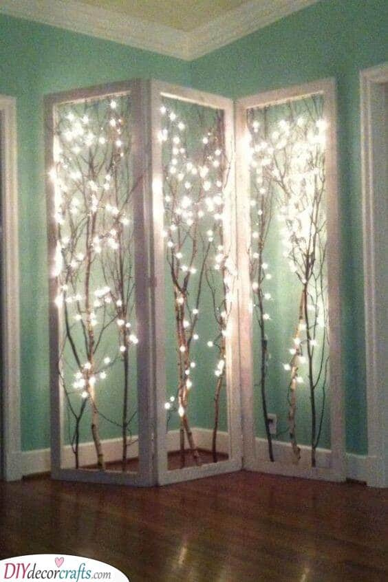 A Source of Light - A Divine Room Divider