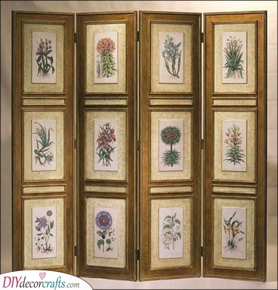 Botanist Drawings - Natural Elements