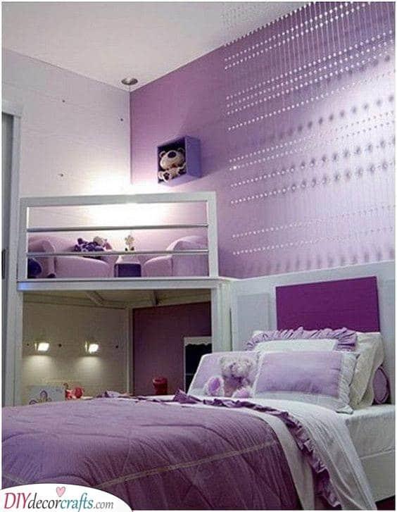Perfect in Purple - Girls Bedroom Ideas