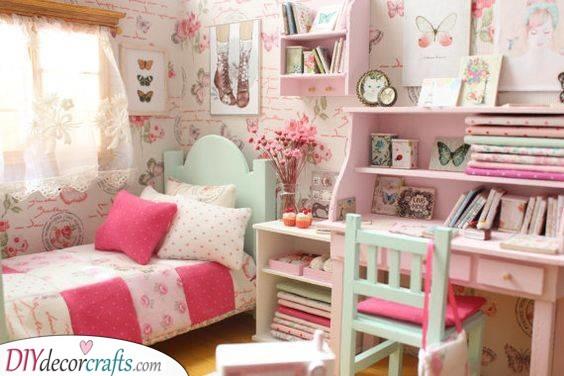 A Bounty of Butterflies - Girls Bedroom Decor Ideas