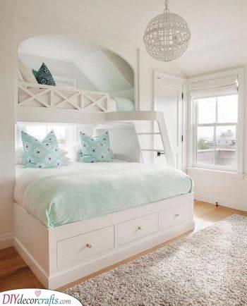 A Cute Bunk Bed - Fantastic for Siblings