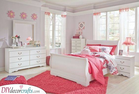 A Pink Parade - Girls Bedroom Decor Ideas