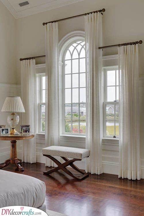 Three Curtains - For Three Windows