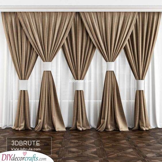Glowing in Gold - The Best Curtains