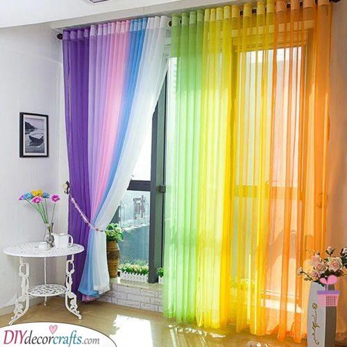 A Gorgeous Rainbow - A Burst of Colour
