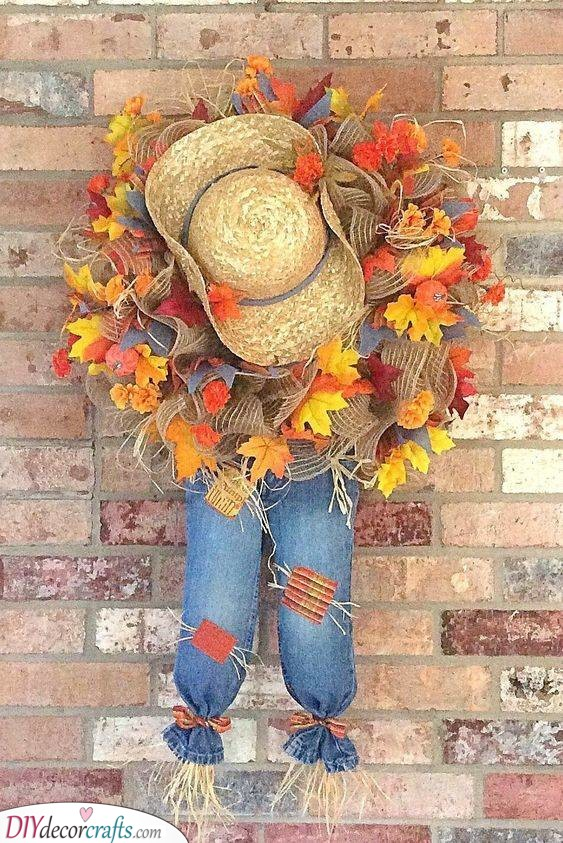 Scaring the Crows - Cute Scarecrow Ideas