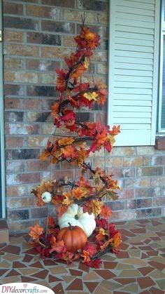 Autumn Grapevine - Fall Decorations for Outside