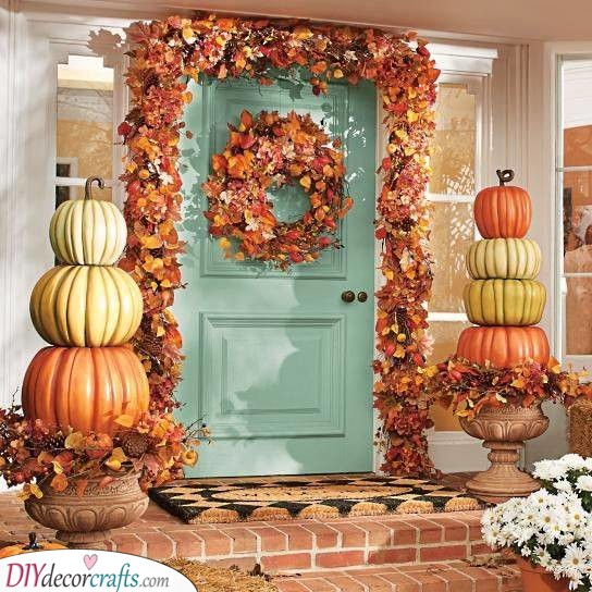 Pumpkin Paradise - Outdoor Fall Decor