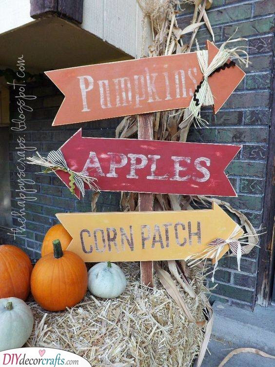 Where to Go - Fall Decorating Ideas for Outside