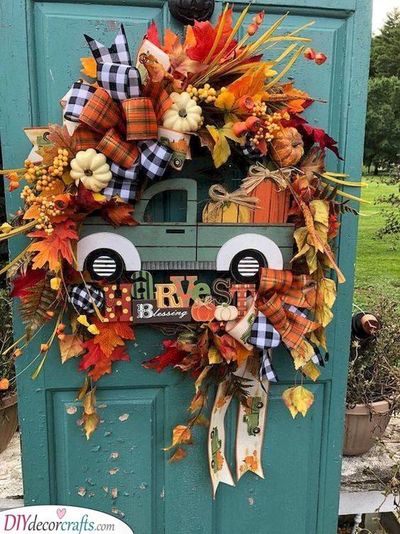 A Wonderful Wreath - Front Door Decor