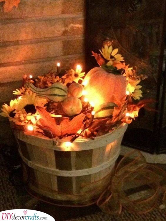 A Basket of Light - And Autumn Elements