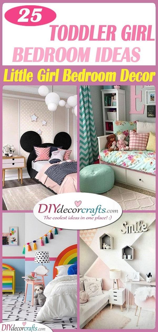 25 TODDLER GIRL BEDROOM IDEAS ON A BUDGET - Little Girl Bedroom Decor