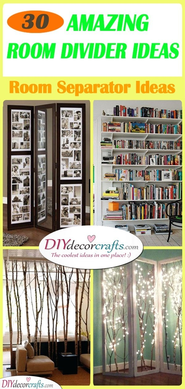30 CHEAP ROOM DIVIDER IDEAS - Room Separator Ideas
