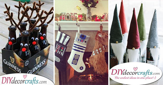 30 DIY CHRISTMAS GIFTS FOR BOYFRIENDS - Christmas Presents for Boyfriends