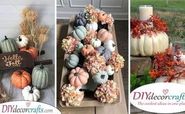 30 CREATIVE PUMPKIN DECORATING IDEAS - Halloween Pumpkin Decorations