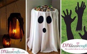 25 CHEAP HALLOWEEN DECORATION IDEAS - Halloween Party Decorations