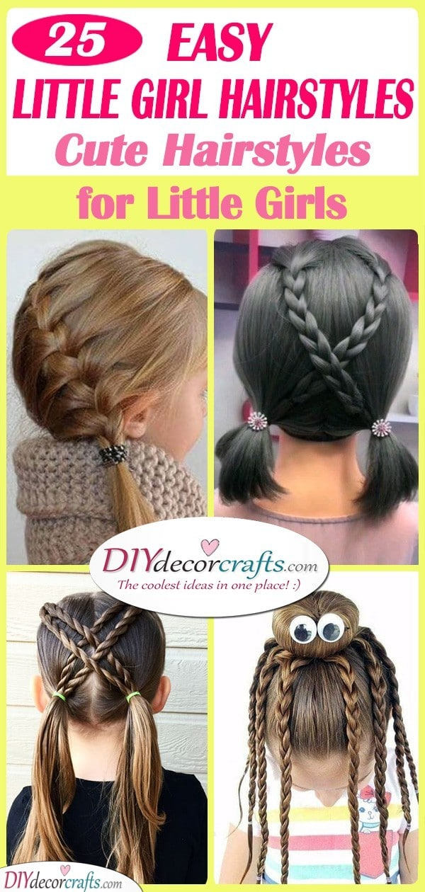 Easy Little Girl Hairstyles Cute Hairstyles For Little Girls