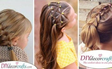 25 EASY LITTLE GIRL HAIRSTYLES - Cute Hairstyles for Little Girls
