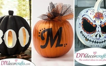 25 EASY PUMPKIN PAINTING IDEAS - Creative Pumpkin Decorating Ideas