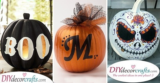 25 EASY PUMPKIN PAINTING IDEAS - Creative Pumpkin Decorating Ideas