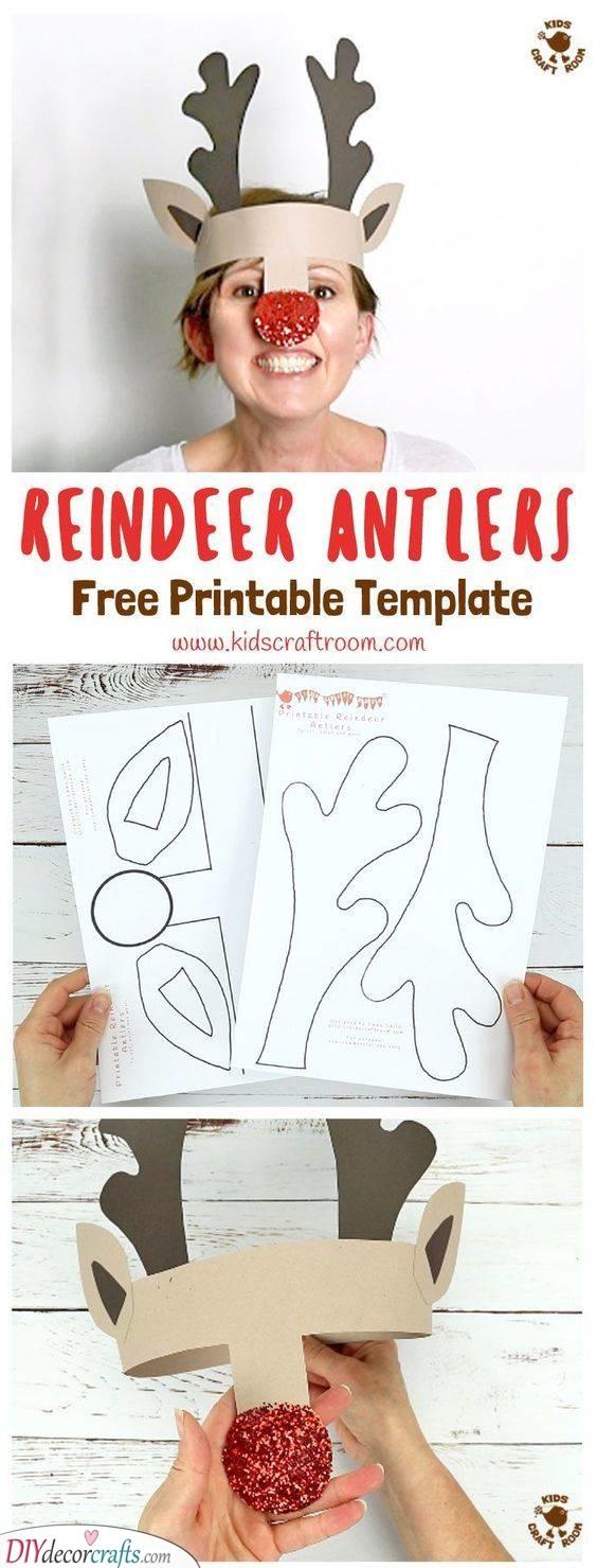 Reindeer Antlers – Easy Christmas Crafts for Kids
