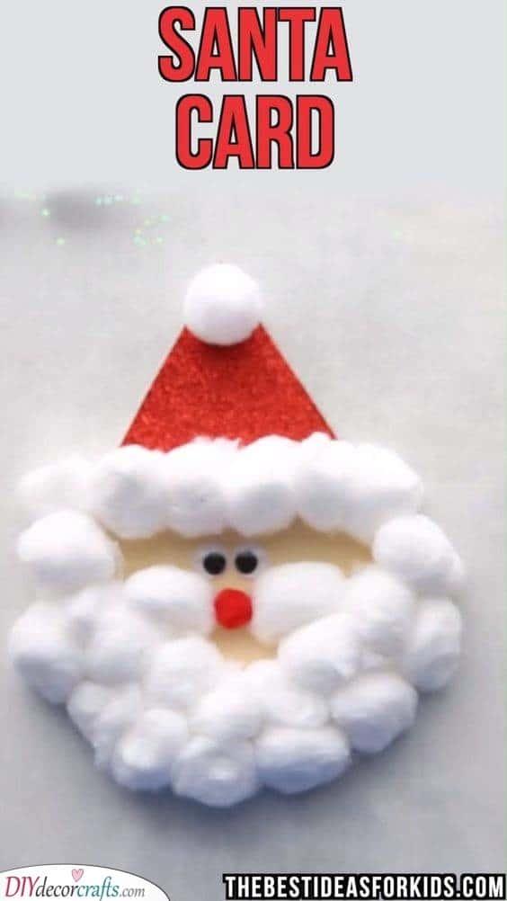 A Santa Card - Creating Christmas Cards