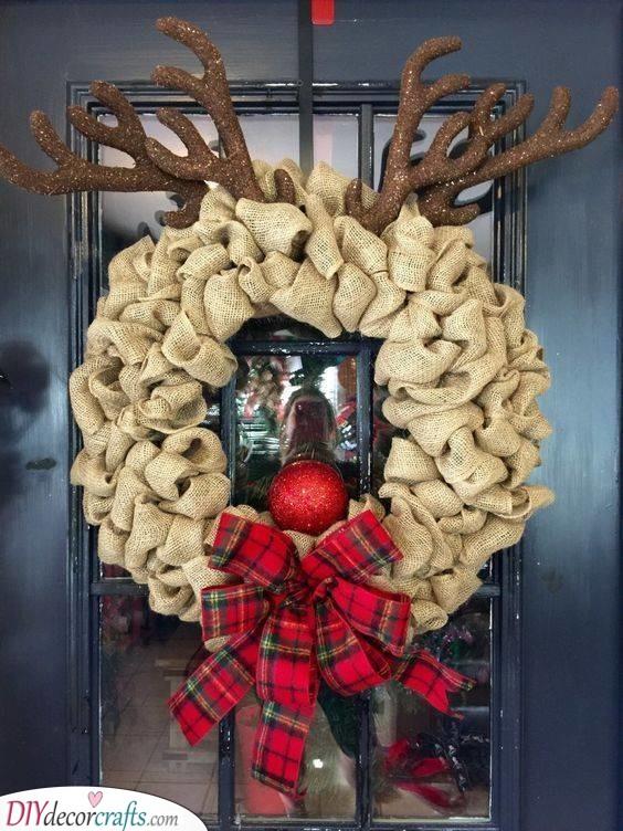 Rudolf the Red-Nosed Reindeer - Christmas Door Decorations