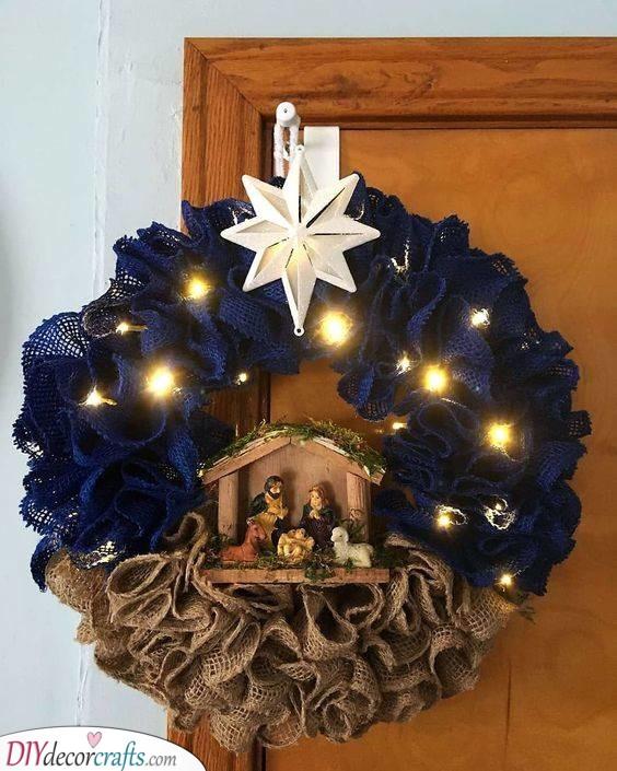 A Biblical Representation - Christmas Door Decorations