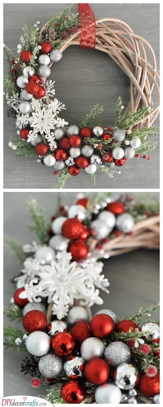 An Elegant Wreath - Wreaths for Winter