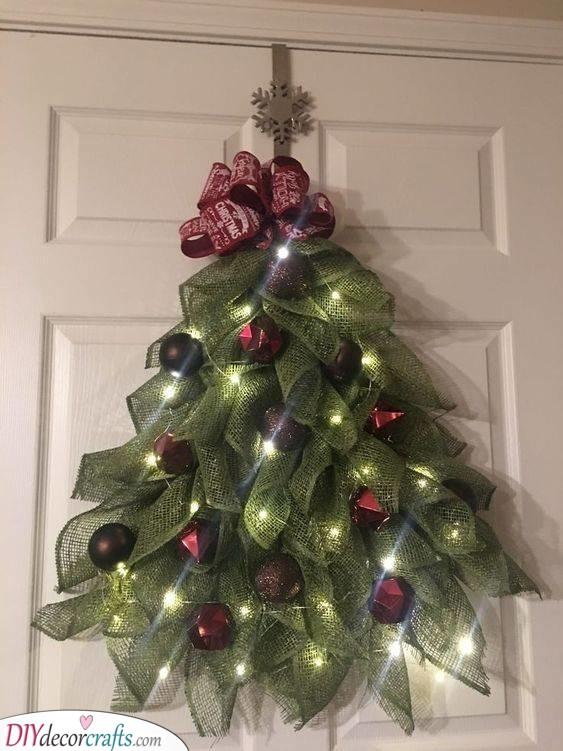 A Christmas Tree - Beautiful and Festive