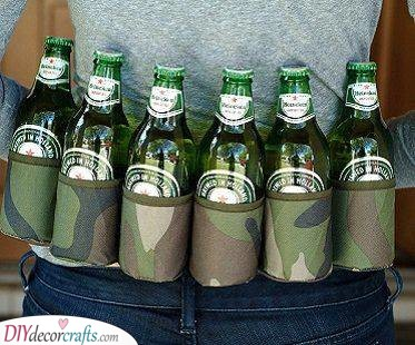 A Beer Bag - With Pockets