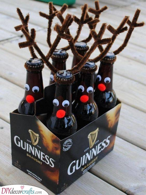 Adorable Reindeer Beers - Best Christmas Gifts for Brother