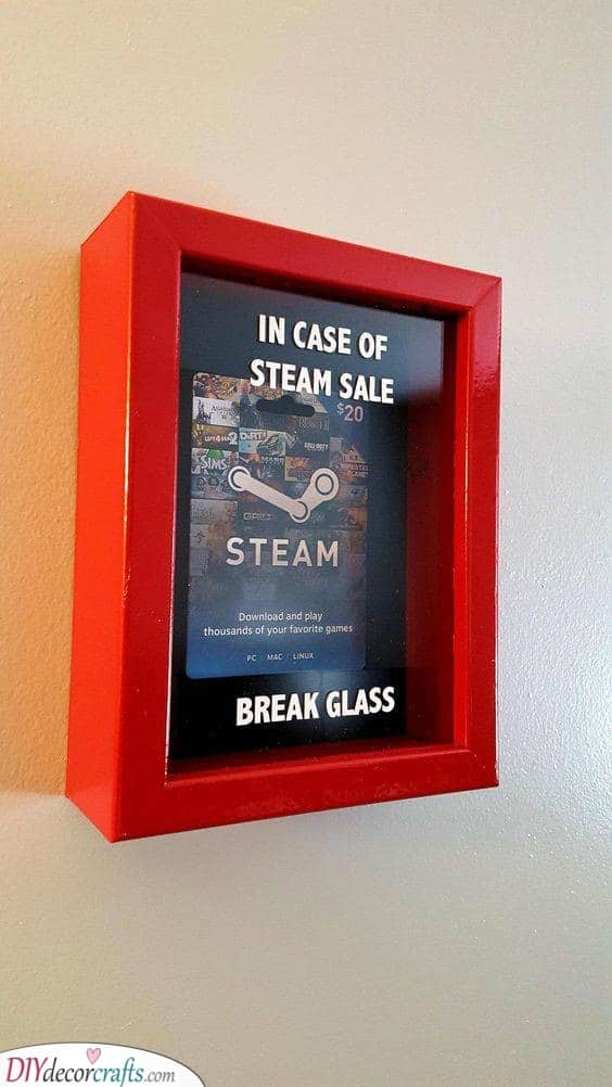In Case of Steam Sale - Break the Glass