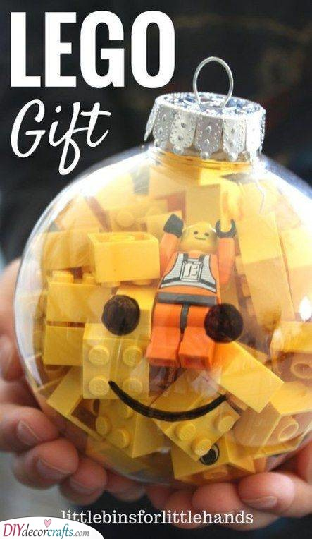 A Lego Ornament - Christmas Gift Ideas for Brother