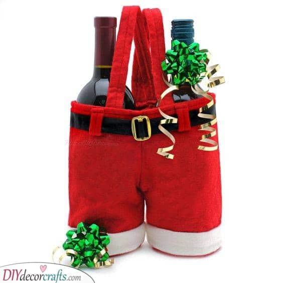 Two Bottles of Liquor - In Santa's Pants