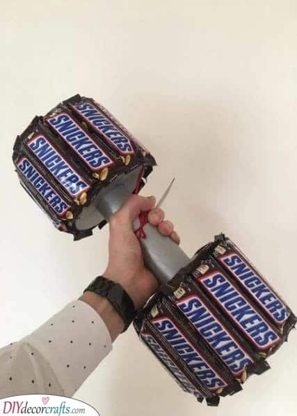 Chocolate Weights - The Best Christmas Gifts for Brothers
