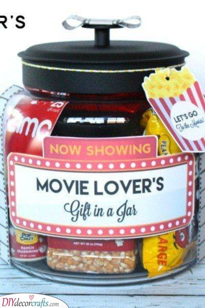 A Jar of Snacks - For a Movie Night