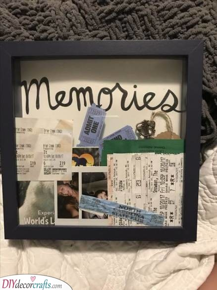 A Collection of Memories - Personal Christmas Gifts for Him