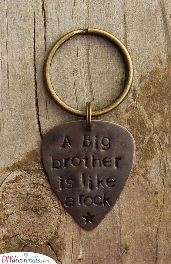 A Cool Keychain - Best Christmas Gifts for Brothers