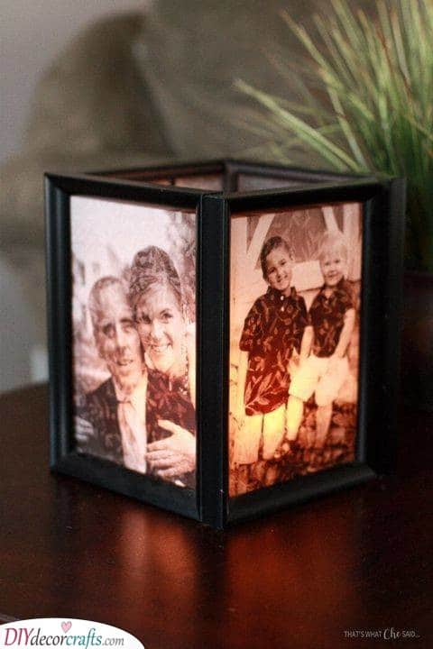 A Candleholder - Christmas Gifts Ideas for Grandparents
