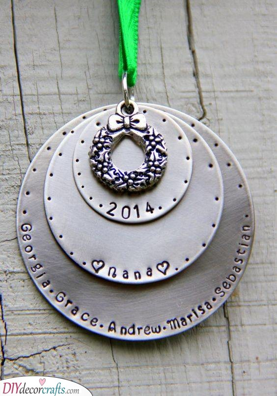 A Christmas Ornament - Perfect for the Holidays