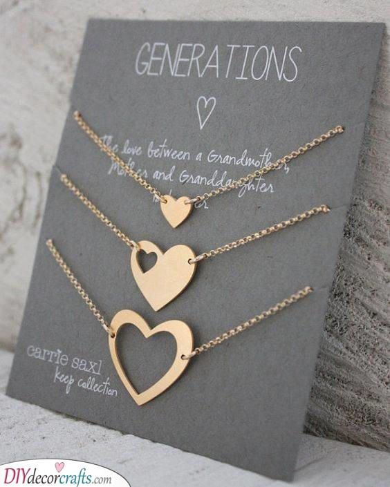 Necklaces for Generations - Cute and Gorgeous
