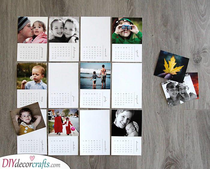 A Calendar of the Family - A Year of Love