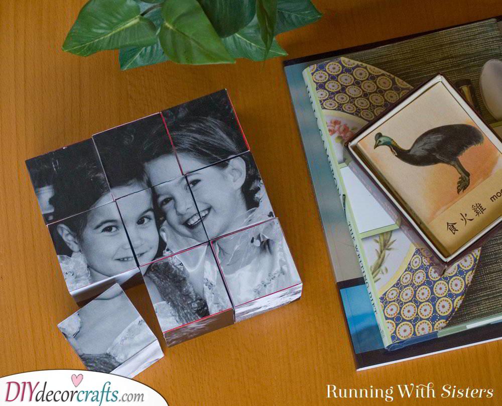Photo Blocks - Christmas Gift Ideas for Sister