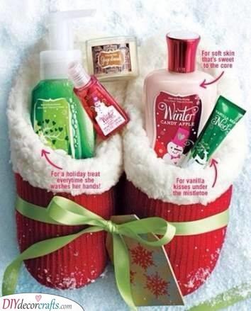 Christmas Stockings - With Treats Inside